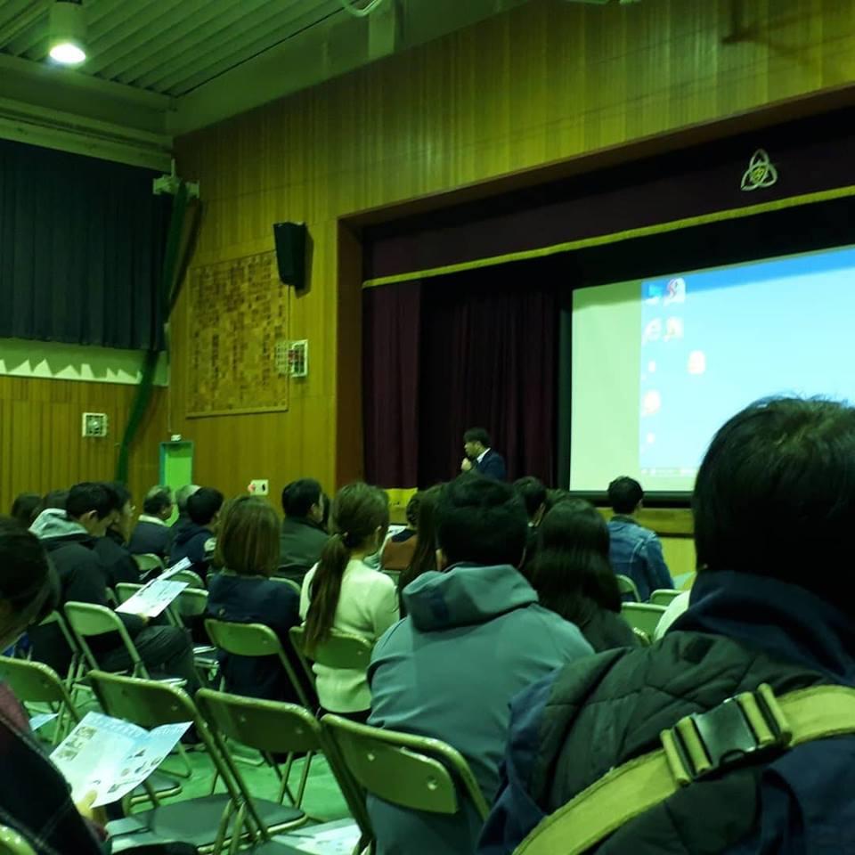 テーマ講演:東大阪市立盾津東中学校子育て講演会「心のバリアフリー」